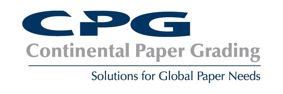 Continental Paper Grading Logo. The tagline reads Solutions for Global Paper Needs